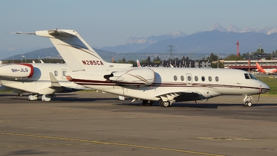 N285CA - Hawker Beechcraft 4000 - Private