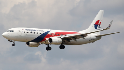 9M-MSA - Boeing 737-8H6 - Malaysia Airlines