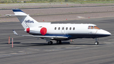 N190HS - Hawker Beechcraft 900XP - Private