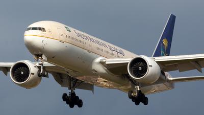 HZ-AKE - Boeing 777-268(ER) - Saudi Arabian Airlines