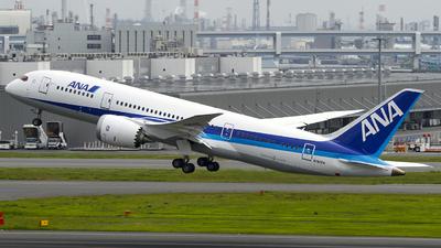 N787EX - Boeing 787-8 Dreamliner - All Nippon Airways (ANA)
