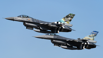 FA-124 - General Dynamics F-16AM Fighting Falcon - Belgium - Air Force