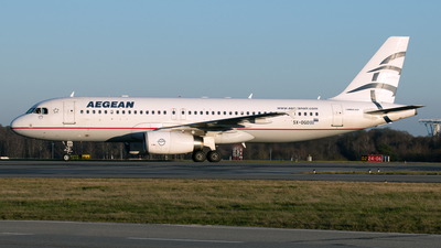 A picture of SXDGO - Airbus A320232 - Aegean Airlines - © PAUL LINK