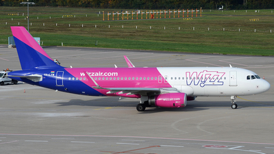 HA-LYW - Airbus A320-232 - Wizz Air