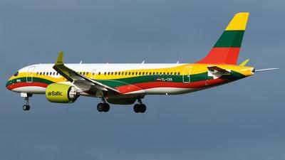 YL-CSK - Airbus A220-300 - Air Baltic