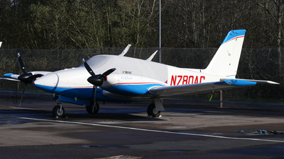 N780AC - Piper PA-30-160 Twin Comanche C - Private
