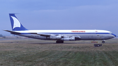 G-TRAD - Boeing 707-321C - TradeWinds Airlines