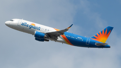 N253NV - Airbus A320-214 - Allegiant Air