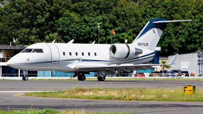 N911LM - Bombardier CL-600-2B16 Challenger 601 - Private