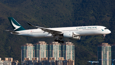 A picture of BLRN - Airbus A350941 - Cathay Pacific - © Colin Law