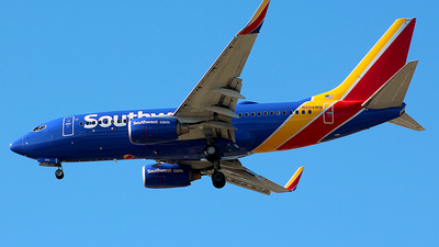 A picture of N204WN - Boeing 7377H4 - Southwest Airlines - © Chrisjake