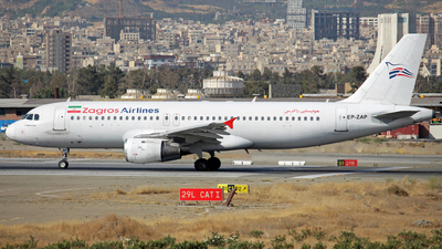 A picture of EPZAP - Airbus A320211 - Zagros Airlines - © Sadra Mosalla