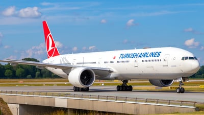 A picture of TCJJL - Boeing 7773F2(ER) - Turkish Airlines - © Martin Tietz