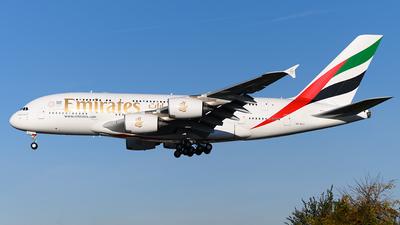 A6-EUJ - Airbus A380-861 - Emirates