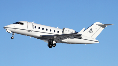 C-FAMB - Bombardier CL-600-2B16 Challenger 650 - Private