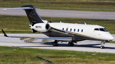 A picture of N517FX - Bombardier Challenger 300 - Flexjet - © Roger M