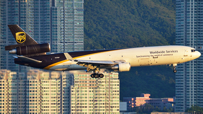 N290UP - McDonnell Douglas MD-11(F) - United Parcel Service (UPS)