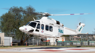 VH-TJH - Agusta-Westland AW-139 - Toll Helicopters NSW Pty Ltd