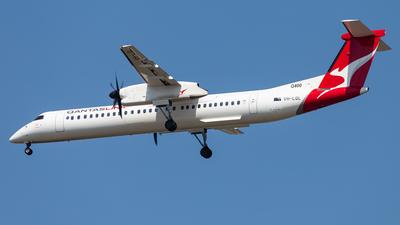 A picture of VHLQL - De Havilland Canada Dash 8400 - QantasLink - © Brandon Giacomin