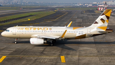 A picture of A6EJA - Airbus A320232 - Etihad Airways - © Aneesh Bapaye