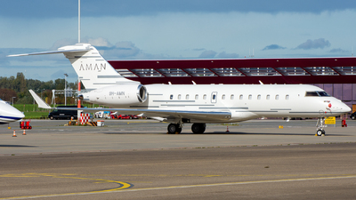 9H-AMN - Bombardier BD-700-1A11 Global 5000 - Emperor Aviation