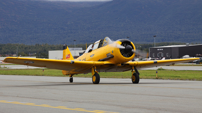 N421QB - Canadian Car and Foundry Harvard Mk.IV - Commemorative Air Force