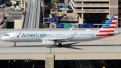 A picture of N119NN - Airbus A321231 - American Airlines - © Jason Whitebird