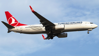 A picture of TCJVL - Boeing 7378F2 - Turkish Airlines - © Furkan Borakazi