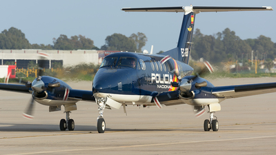 EC-GBB - Beechcraft B200 Super King Air - Spain - National Police