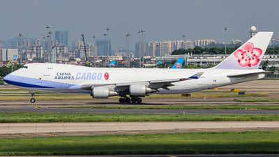 B-18723 - Boeing 747-409F(SCD) - China Airlines Cargo