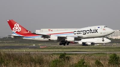 LX-OCV - Boeing 747-4R7F(SCD) - Cargolux Airlines International