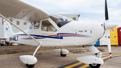 9H-MLT - Tecnam P92 Echo JS - Malta School of Flying