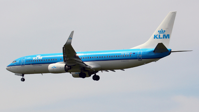 PH-BXH - Boeing 737-8K2 - KLM Royal Dutch Airlines