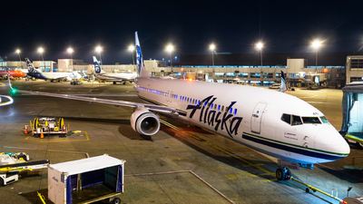 N481AS - Boeing 737-990ER - Alaska Airlines