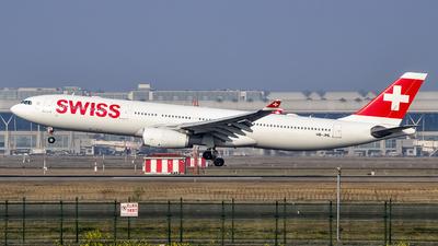HB-JHL - Airbus A330-343 - Swiss