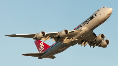 LX-VCL - Boeing 747-8R7F - Cargolux Airlines International