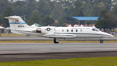 86-0374 - Gates Learjet C-21A - United States - US Air Force (USAF)