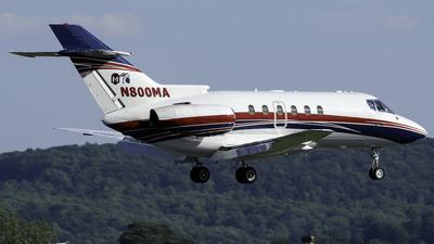 N800MA - British Aerospace BAe 125-800XP - Private