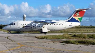 ZS-SYP - British Aerospace Avro RJ85 - Airlink