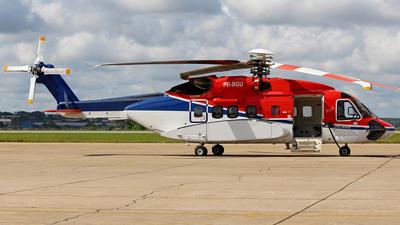 A picture of PRBGU - Sikorsky S92A Helibus - CHC Helikopter Service - © Eduardo Jeppesen / Equipe GIG ao vivo