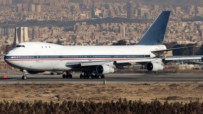 5-8101 - Boeing 747-131(SF) - Iran - Air Force