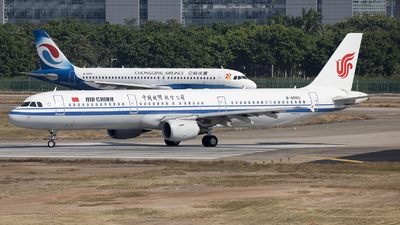 A picture of B6665 - Airbus A321213 - Air China - © Harley Guo