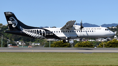 A picture of ZKMVR - ATR 72600 - Air New Zealand - © Harris Thomson