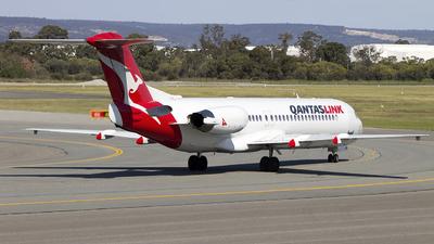 VH-NHO - Fokker 100 - QantasLink (Network Aviation)