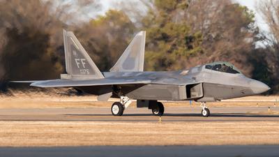 09-4176 - Lockheed Martin F-22A Raptor - United States - US Air Force (USAF)