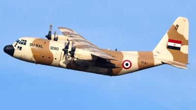 1280 - Lockheed C-130H Hercules - Egypt - Air Force