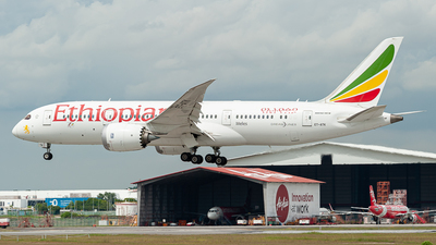 A picture of ETATK - Boeing 7878 Dreamliner - Ethiopian Airlines - © syafiqkuzairy