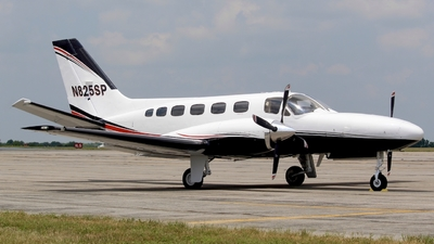 A picture of N825SP - Cessna 441 Conquest - [4410127] - © Jacob Mathers