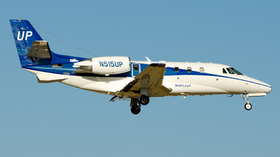 N515UP - Cessna 560XL Citation Excel - Wheels Up