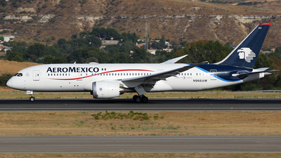 N966AM - Boeing 787-8 Dreamliner - Aeromexico